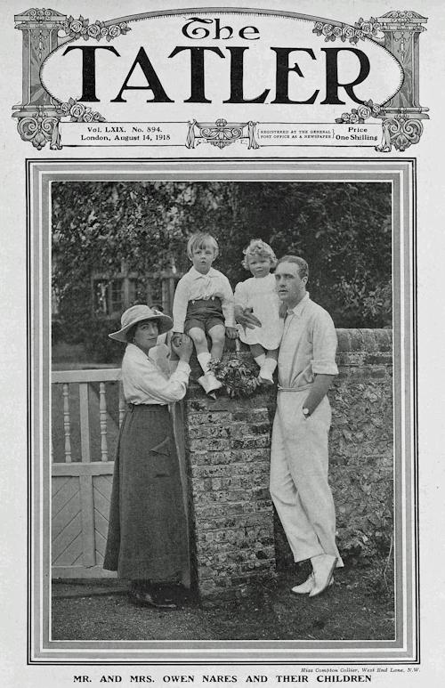 Owen and Marie Nares, Tatler 1918