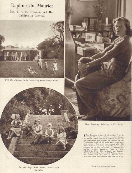 Daphne Du Maurier, Tatler, 4 July 1945