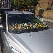 Oh West Hampstead, there are few words... What the duck??? Seen by @rlawrence27