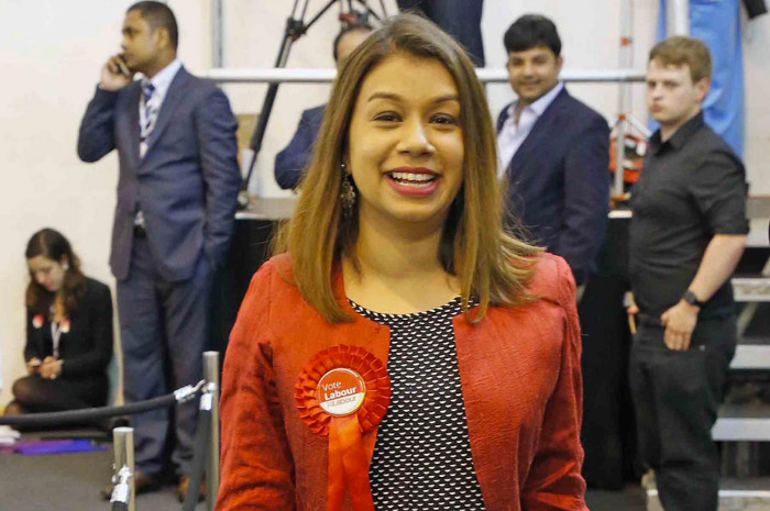 And the winner is ... Tulip Siddiq M.P. Image credit @betterforbritain