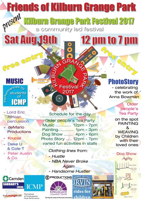 Kilburn Grange Park Festival @ Kilburn Grange