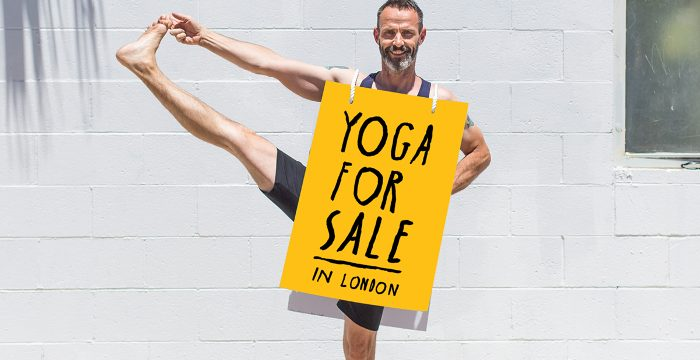 Yoga London Club founder, Matt Ryan