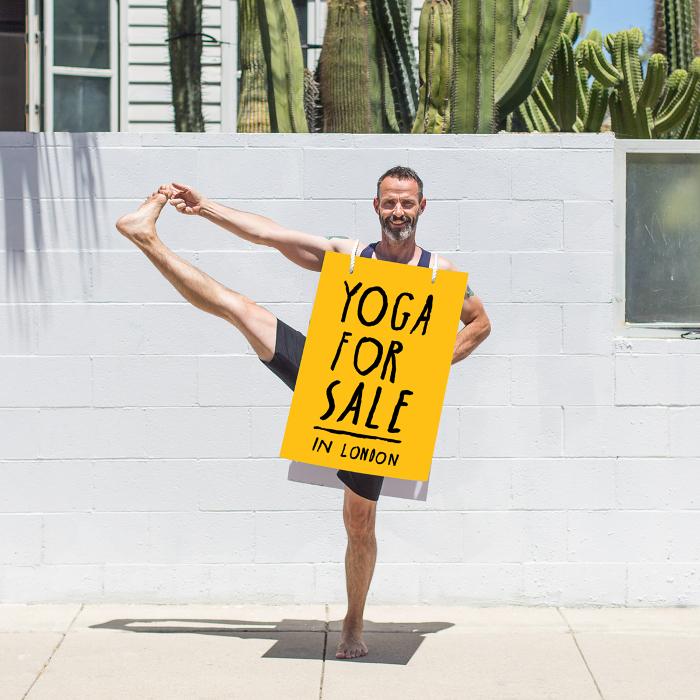 Yoga London Club founder, Matt Ryan